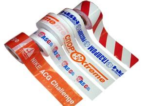 Фирменная оградительная лента с логотипом